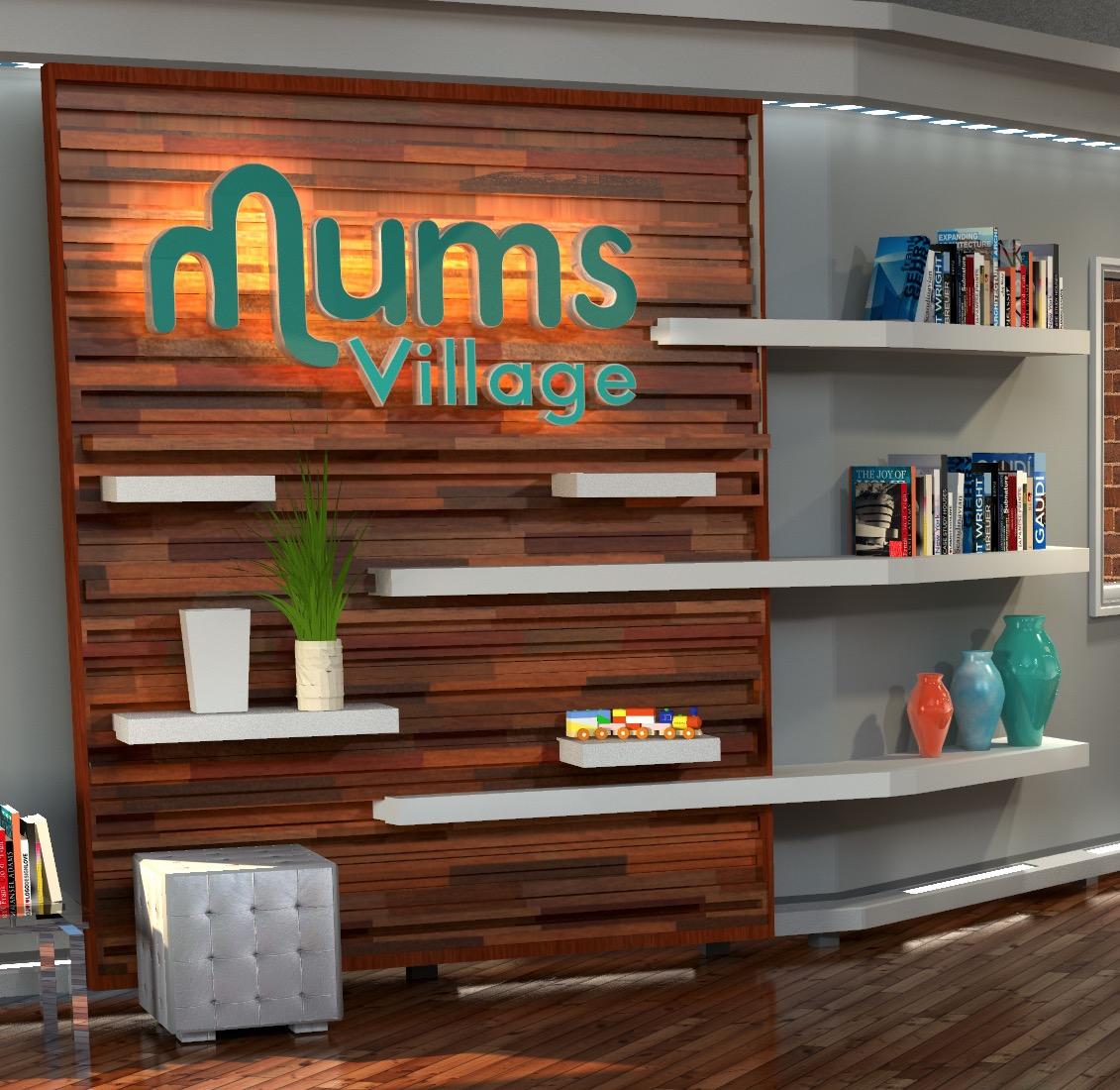 17 - Mums-logo-set piece